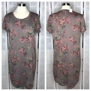 💥 Maurices floral French terry dress L